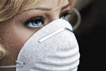 Symbolfoto Atemschutzmaske