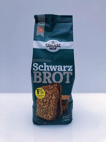 Bauckhof - glutenfreies Schwarzbrot