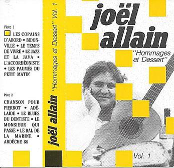 1987. deuxième enregistrement sur cassette