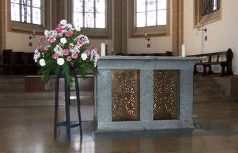 Der Altar - Foto: HPD