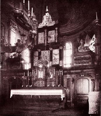 Bild 1: Der Hochaltar