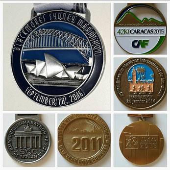 New York 2011, Berlin 2012, Tokyo 2013, Marrakech 2014, Caracas 2015 und nun Sydney 2016 - eine stolze Sammlung!