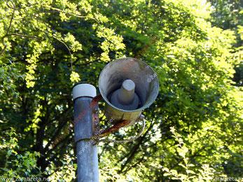 Lautsprecher in der Natur