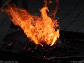 Offene Feuerflamme