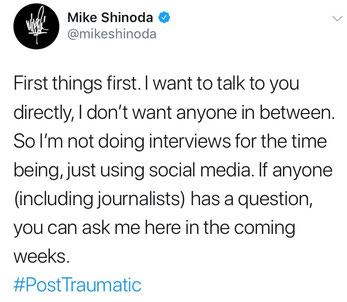 Quelle: Mike Shinoda / Twitter