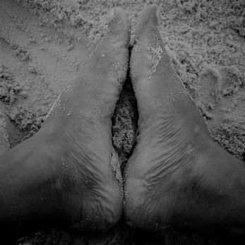 Massage avec les pieds