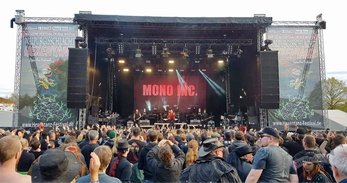 Mono Inc., Hexentanz/Walpurgisschlacht-Festival 2017 / Foto: CorviNox