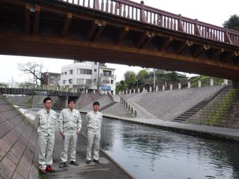 リナシティの木橋