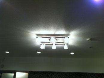 照明器具取付 完成