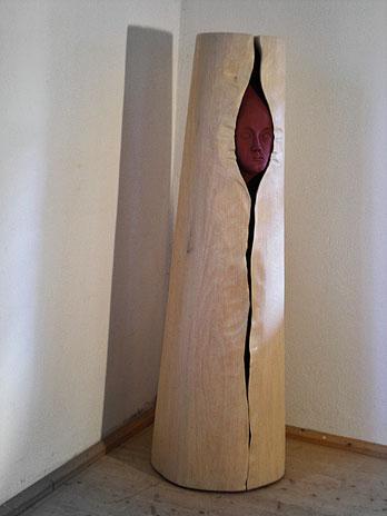 Skulptural Möbel-Objekt