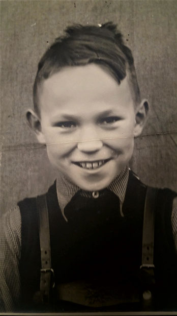 JG Raben im Alter von sechs Jahren.