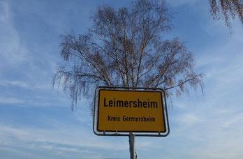 Leimersheim: 2014, Impression am westlichen Ortseingang (Foto: Ochsenreither)