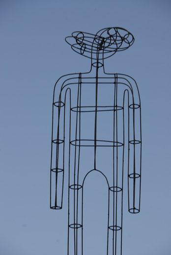 SIN TITULO hierro 1,70x50x35cm