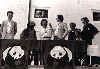 Künstler für die Au (Hainburg) mit Bernd Lötsch, Peter Henisch, Günthert Nenning, Charlotte Weinmann