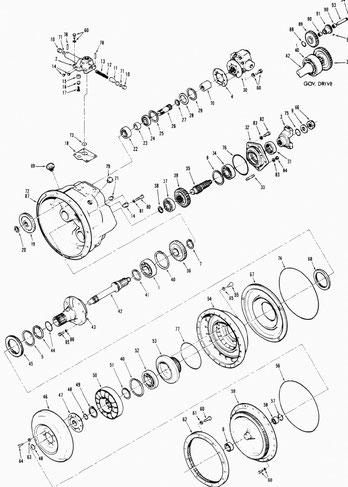 Torque Converter C270 Series Parts