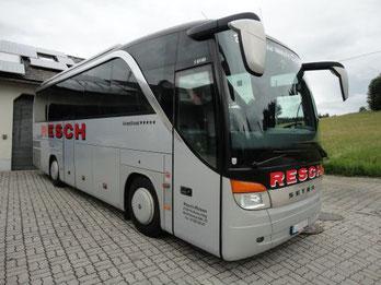 Reisebus Setra S411 HD der Firma Resch