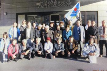 一関市藤沢 第27区自治会 農家組合との合同研修の様子