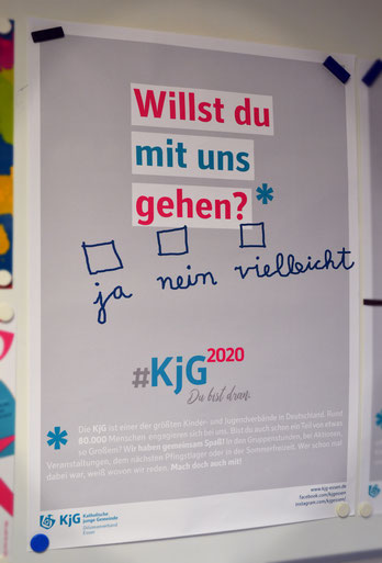 Eins der neuen Plakate zur Kampagne KjG2020.