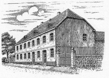 nassauer hof, dudweiler, saarbruecken, gottfried schabert, 1762