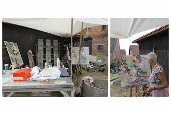 6.Kunstsymposion Berglen/Streich 24. -30.Aug.2020