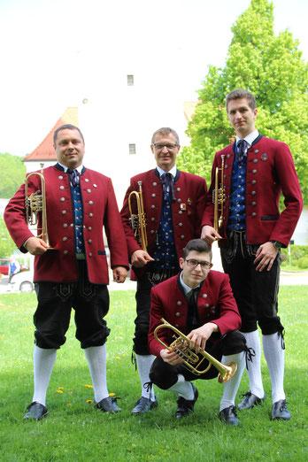 v.l.: Bernhard Rödhammer, Herbert Plattner, Tobias Plattner, Lukas Kressl,
