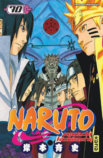 Naruto première génération. Source:https://livre.fnac.com/a9177474/Naruto-Tome-70-Naruto-Masashi-Kishimoto