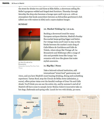 NY times, 36 hours in Madrid