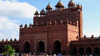 Indien Urlaub: Nordindien, Fatehpur Sikri. Reisebericht.