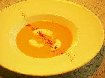 焼きとうもろこしのスープ ピマンデスペレットの香り