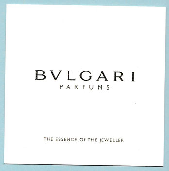 BVLGARI PARFUMS - THE ESSENCE OF THE JEWELLER