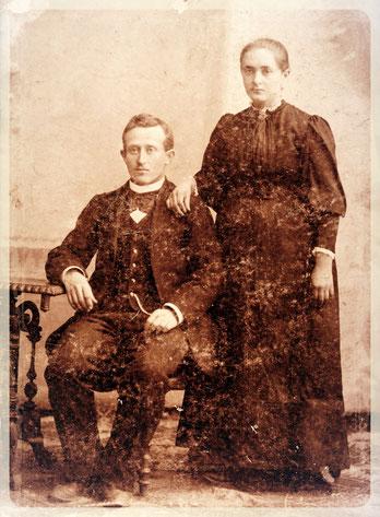 Гетерле Иван Павлович с женой Маргаритой Фридриховной.