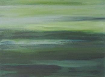 Kleines Grün – Acryl auf Leinwand – 20x30 cm – 2013