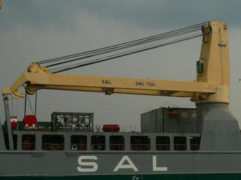 NMF 700 t Kran Heavy Lift Vessel ANNE-SOFIE