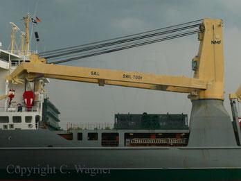 Heavy Lift Vessel ANNE-SOFIE, 700 t Kran NMF