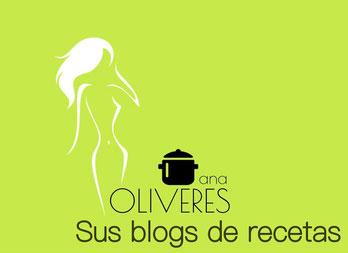 Los blogs de Ana Oliveres con recetas para ollas programables GM y robots Cecotec