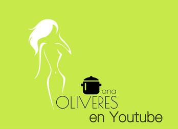 Las vídeo recetas de Ana Oliveres en Youtube, para ollas programables GM y robots Cecotec