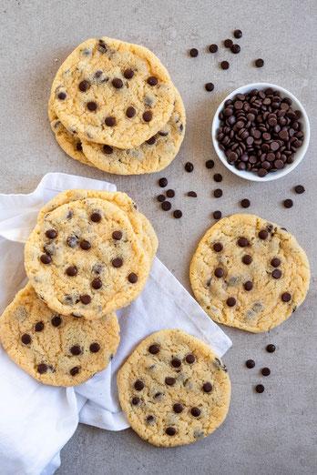 double chocolate cookies, schokolade, kekse