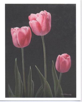 """Three Tulips"""