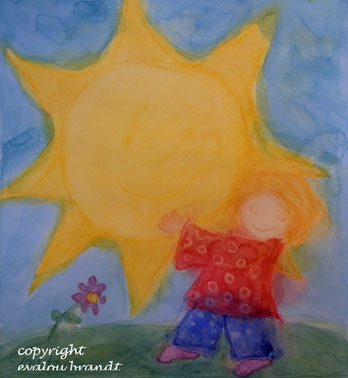 Kind mit Stern