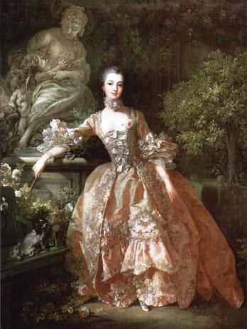 Madame Pompadour F. Boucher 1759