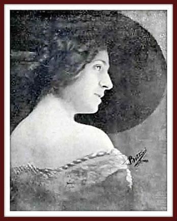 Ersilde Cervi-Caroli - soprano - Ritratto