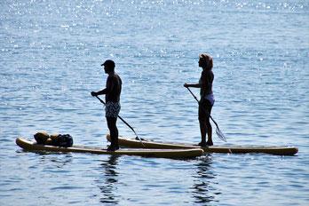 activites nautiques proche camping dans les landes