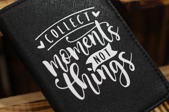 Reiseetui, Reisepass, Reiseunterlagen, Passport, personalisiert