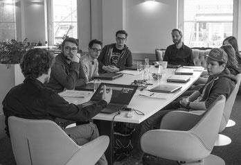 Inhouse-Schulung bei der Internetagentur econsor in Heilbronn. Fotos: Benjamin Liedtke