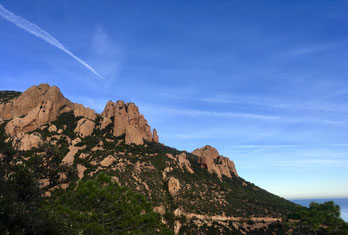 France - Massif de L'Esterel - Cap Roux