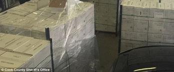 cargamento de marihuana escondido en aguacte interceptado por la policia
