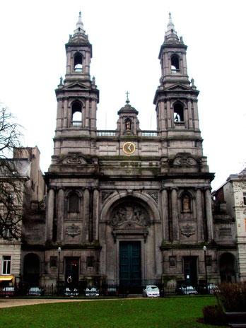 L' église Saint Joseph square Frère-Orban à Bruxelles