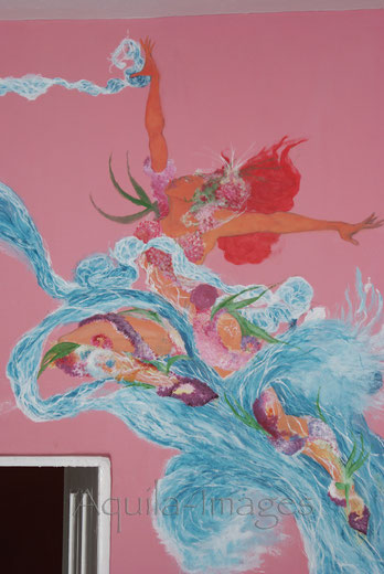 Boaz George-aquila-images-wallpainting