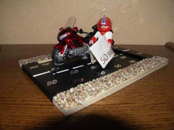 Originelles Geldgeschenk für Motorradfans