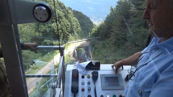 Mit der Mendelbahn hinauf auf den Mendelpass
